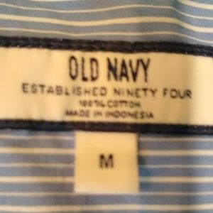 Old Navy Shirts - Old Navy Striped Button Up